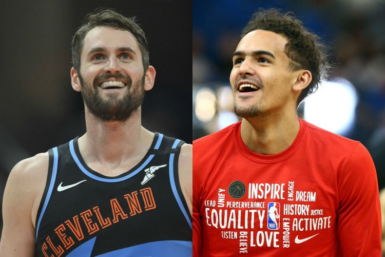 Trae Young Explains How Kevin Love Helped Change His Life ...