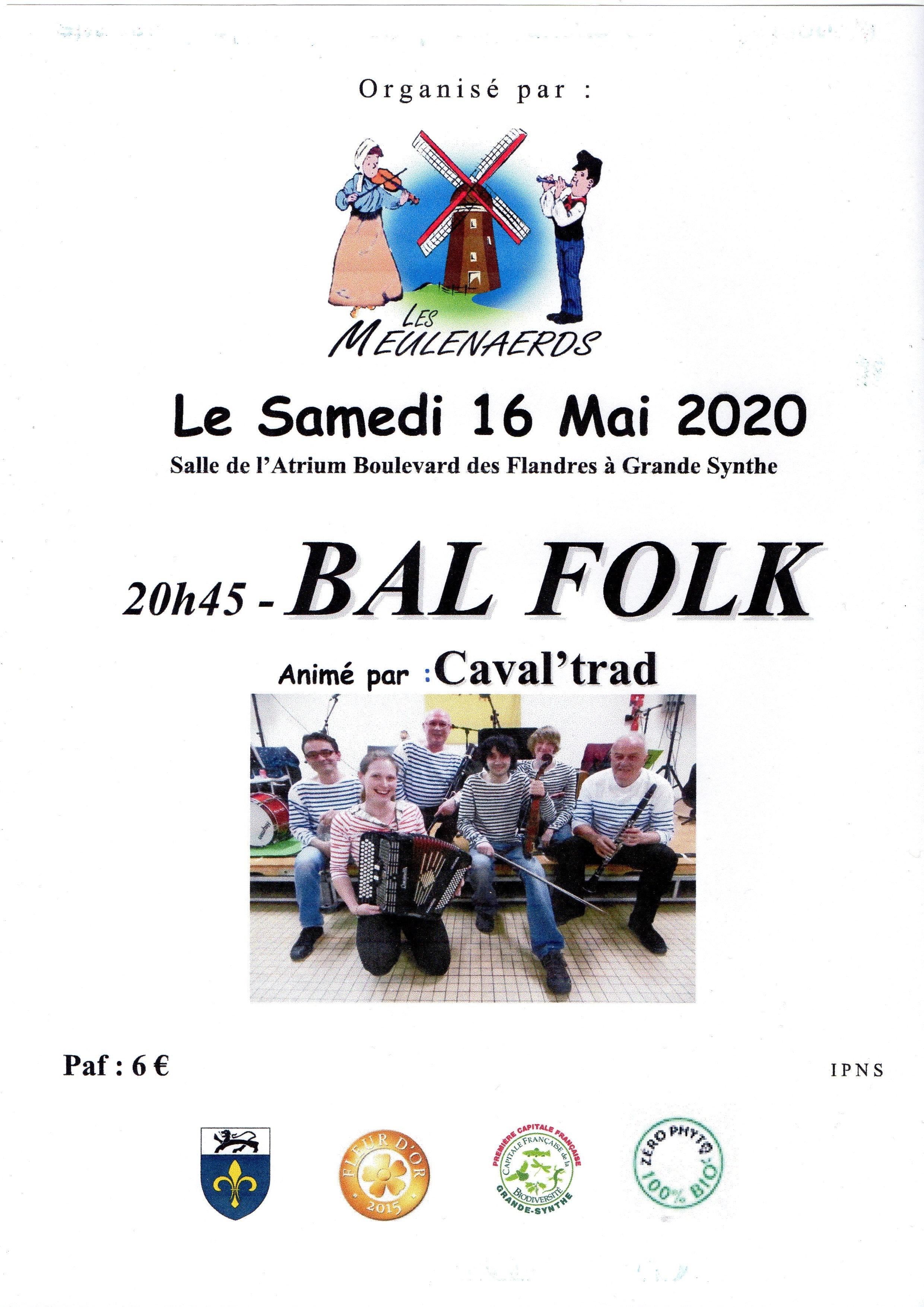 Bal Folk à l'Atrium le 16/05/2020 - Grande-Synthe