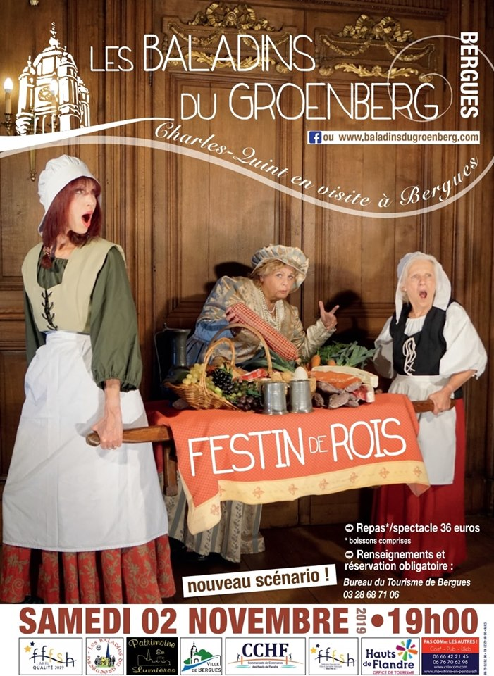 Festin de Rois - Bergues - 2 Novembre 2019