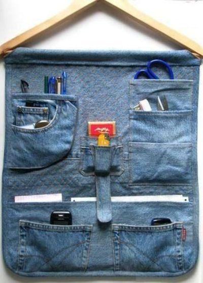 calça jeans que você não usa mais
