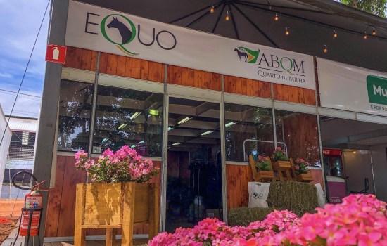 Stand Equo ABQM durante o Potro do Futuro