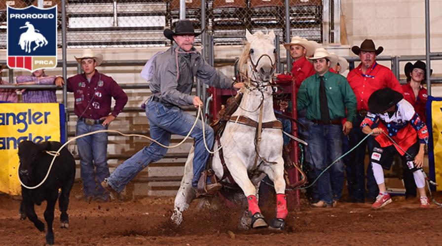 Em Waco, pela PRCA, Rilley Pruitt mantém boa fase