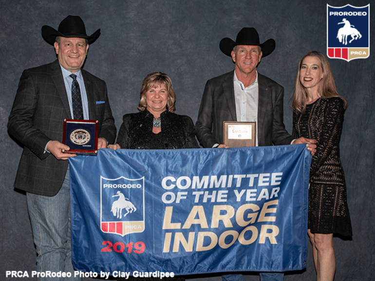 Rodeohouston vence como 2019 Large Indoor Rodeo of the Year