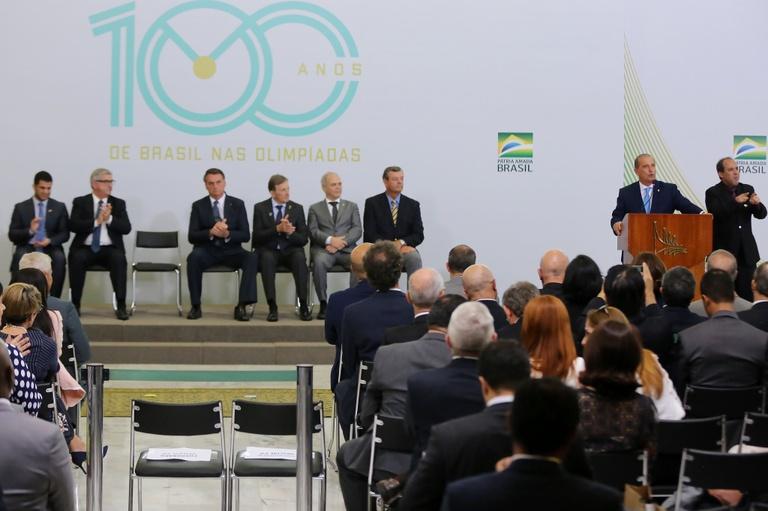 No dia do esportista, Brasil comemora 100 anos de participação Olímpica