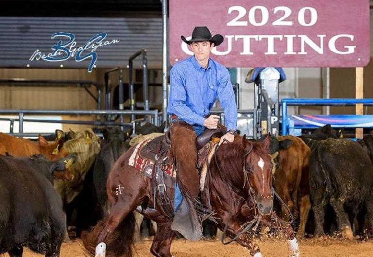 Rodrigo Taboga é vice no Bonanza Cutting no Texas
