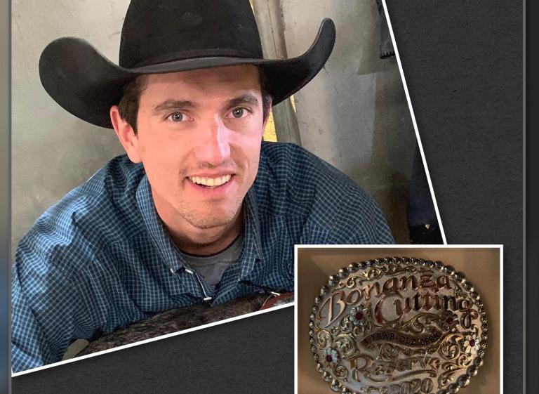Rodrigo Taboga é vice no Bonanza Cutting no Texas