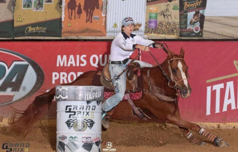 Atual campeã Nacional, Ana Cardozo pontua em mais uma pela ANTT