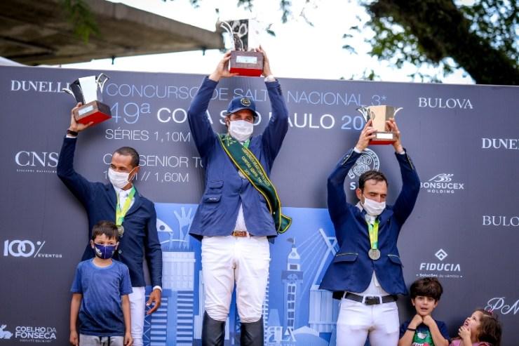 Zé Reynoso conquista o pentacampeonato brasileiro Senior Top em prova junto com a 49ª Copa São Paulo, na Sociedade Hípica Paulista,