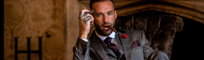 Calum Best at House of Cavani