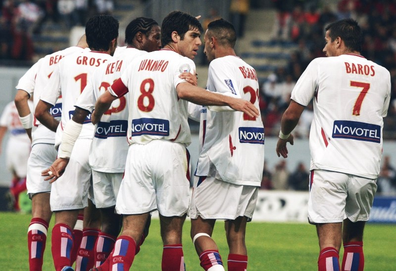 These Football Times - The magnificent seven: Olympique Lyon