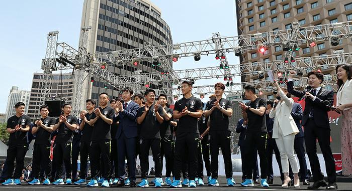 2018 World Cup South Korea national football team Farewell Ceremony