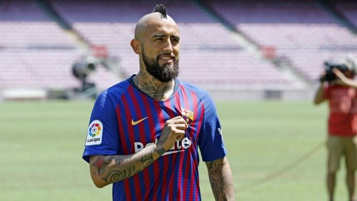 Arturo Vidal FC Barcelona