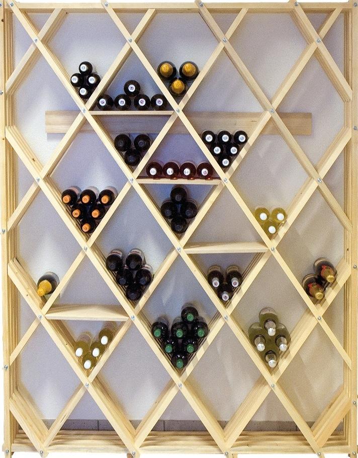 meuble a bouteilles en bois cave a vin ch