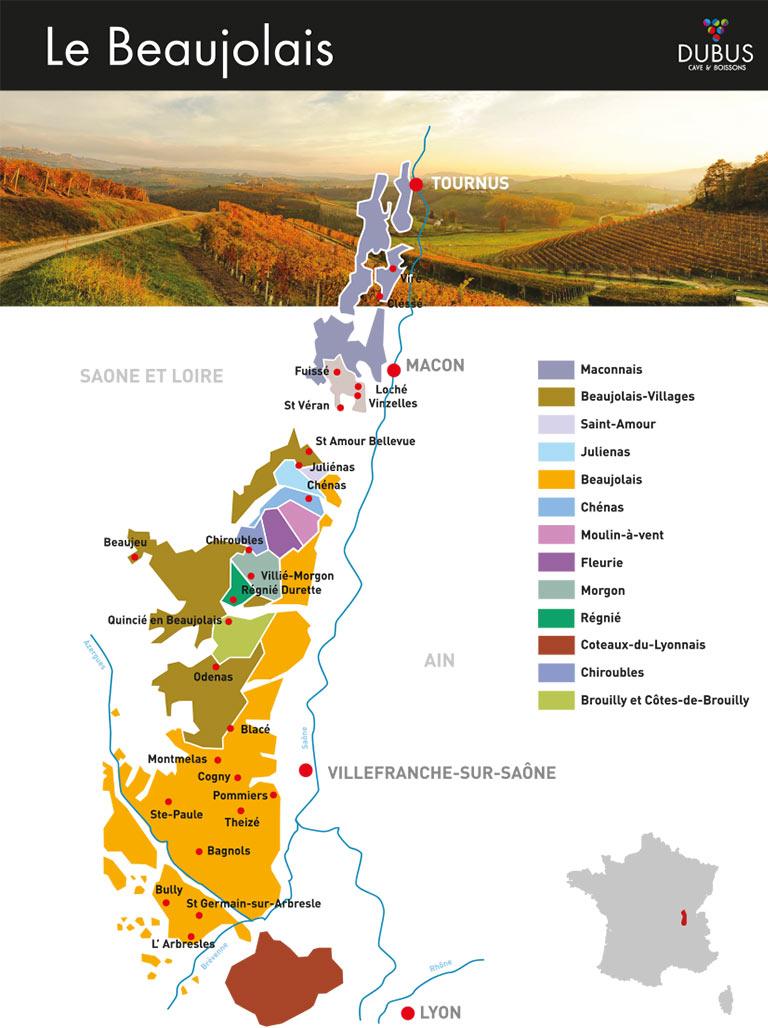 Beaujolais et vins de Savoie