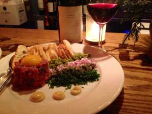 Cavé Vin's Steak Tartare - Like nothing you've tasted before!