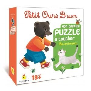 Petit Ours Brun – Mon Premier Puzzle à Toucher Les Animaux