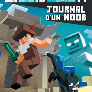 Escape Book Enfant – Journal d'un Noob : Le Méga Temple Maudit