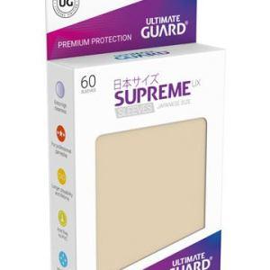 Ultimate Guard 60 pochettes Supreme UX Sleeves format japonais Sable
