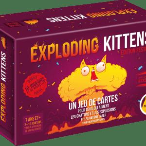 Exploding Kittens – Édition Festive