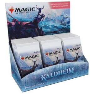 Magic the Gathering Kaldheim présentoir boosters d'extension (30) Français