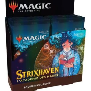 Magic the Gathering Strixhaven : l'Académie des Mages présentoir boosters collectors (12)