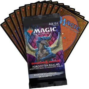 Magic the Gathering D&D Forgotten Realms – Booster d'extension