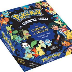 Pokémon – Le Grand Jeu du Cherche et Trouve