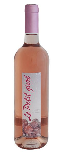 Vin de france Petit Givré Rosé