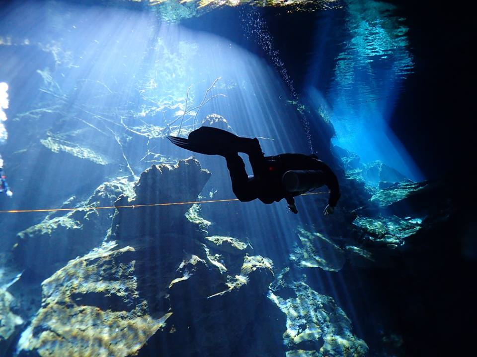Cave Diving In Riviera Maya-Guided