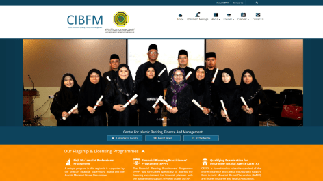Centre For Islamic Banking, Finance And Management
