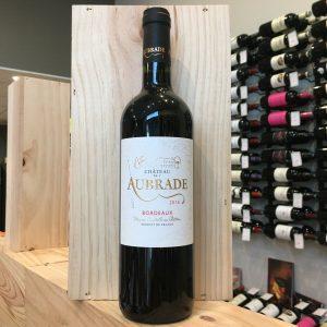 aubarde rotated - Château de l'Aubrade 2016 - Bordeaux 75cl