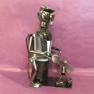 CB bucheron rotated - Cache bouteille métal bûcheron