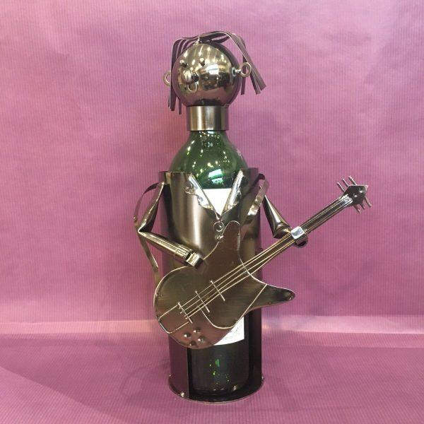 CB guitare rotated - Cache bouteille métal guitariste