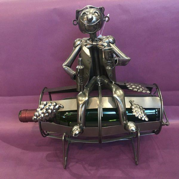 CB tonneau rotated - Cache bouteille métal vigneron