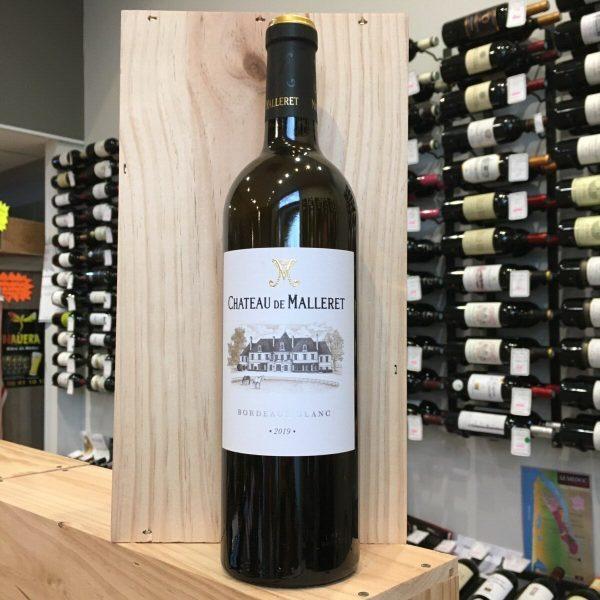 MALLERET B 19 rotated - Château de Malleret 2019 - Bordeaux 75cl