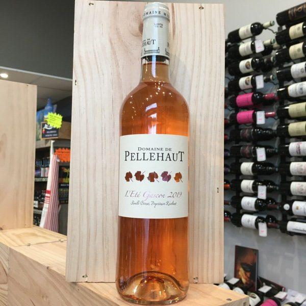 PELLEHAUT ROSE EG rotated - Pellehaut Eté Gascon rosé 2020 - Côtes de Gascogne 75cl