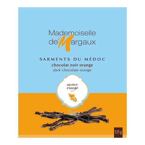Sarments 125g orange 500x500 1 - Sarments du Médoc Mademoiselle de Margaux - Orange 125 gr
