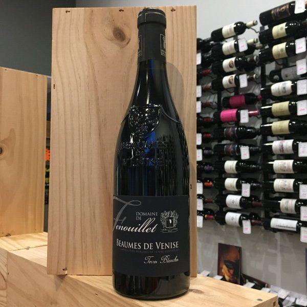 TERRE BLANCHE rotated - Dom. de Fenouillet - Terre Blanche 2018 - Beaumes de Venise BIO 75cl