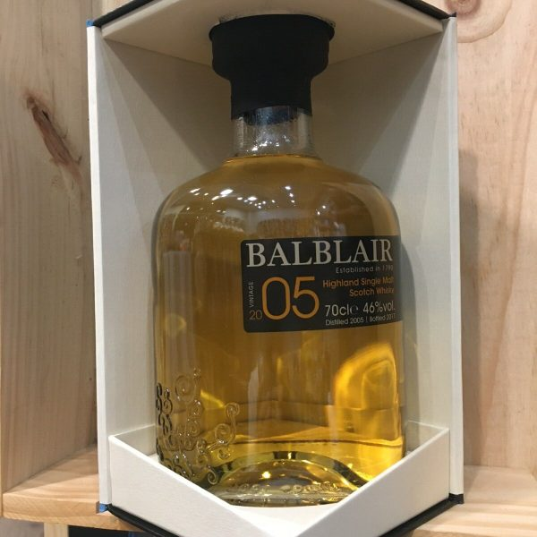 balblair rotated - Balblair 2005 - Single Malt Whisky 70cl