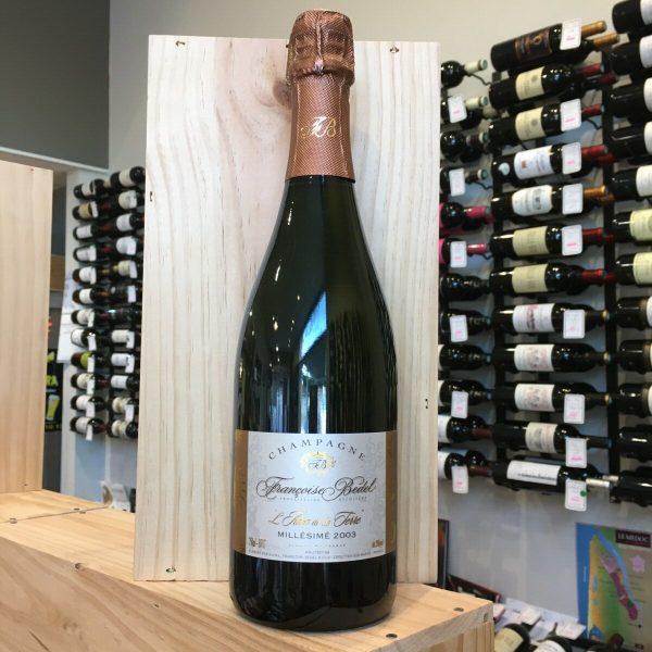 bedel rotated - L'Ame de la Terre de F. Bedel mill 2003 - Champagne 75cl BIO