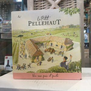 bib pell rose rotated - BIB Pellehaut Harmonie rosé - Côtes de Gascogne 5 L