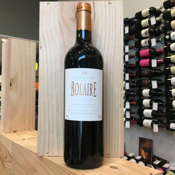 bolaire rotated - Château Bolaire 2011 - Bordeaux Supérieur 75cl