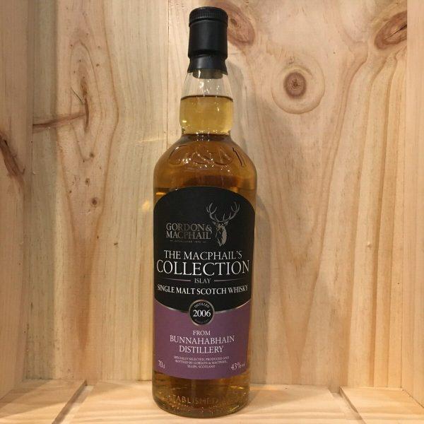 bunnaha 2006 rotated - Gordon & MacPhail - Bunnahabhain 2006 - Single Malt Whisky 70cl