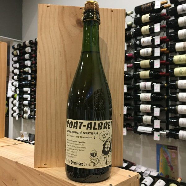 cidre demi sec rotated - Cidre artisanal breton Coat Albret 75cl - demi-sec