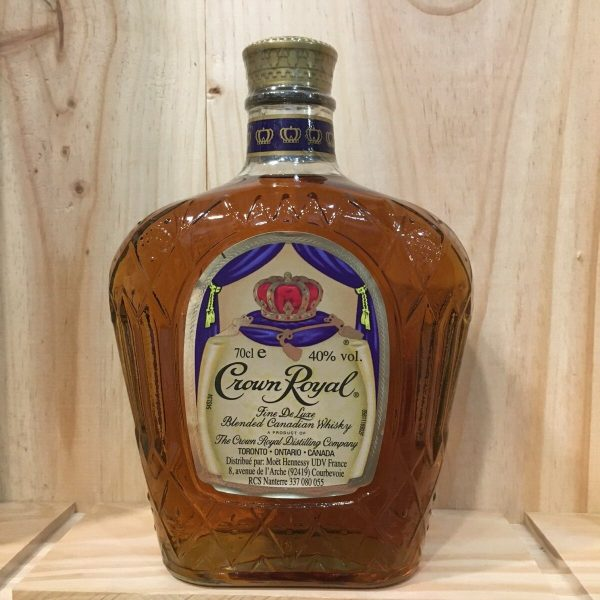 crown royal rotated - Crown Royal - Canadian Whisky 70cl
