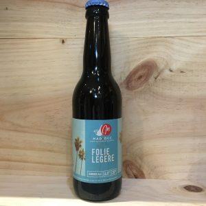 folie legere rotated - Mad'Occ - Folie Légère 33 cl - bière blonde