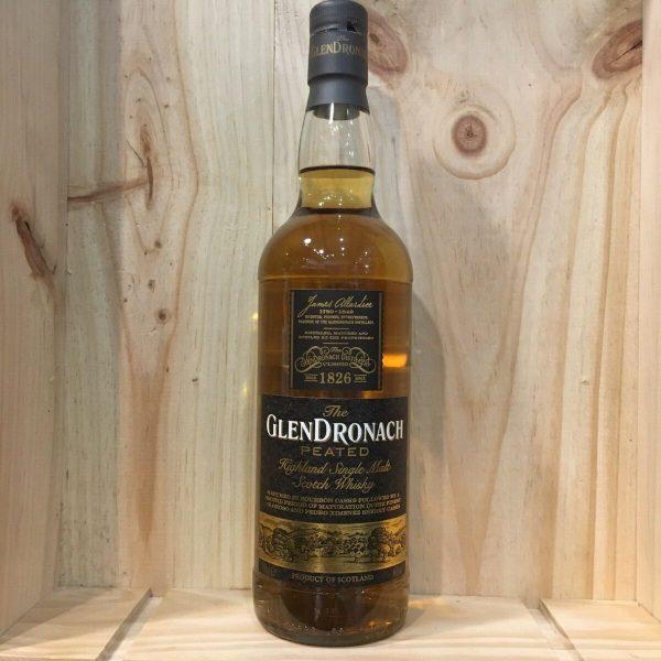 glendro peated rotated - Glendronach Peated 70cl - Single Malt Scotch Whisky
