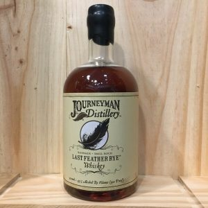 journeyman rotated - Journeyman Distillery 50 cl - Last Feather Rye Whiskey