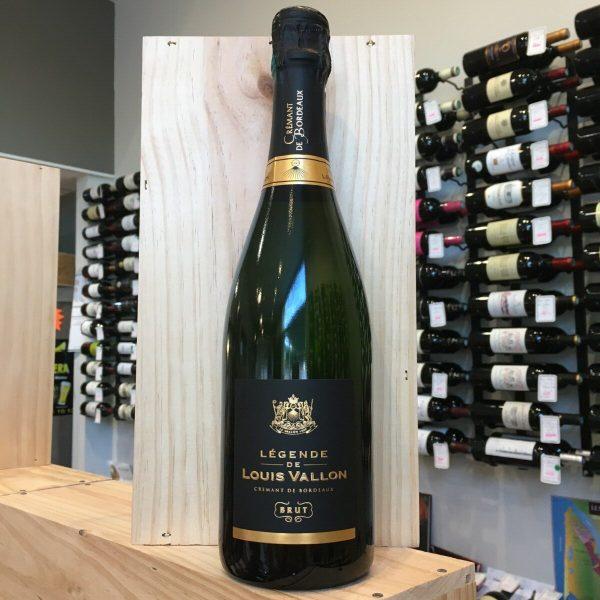 legende rotated - Légende de Louis Vallon blanc - Crémant de Bordeaux brut 75 cl