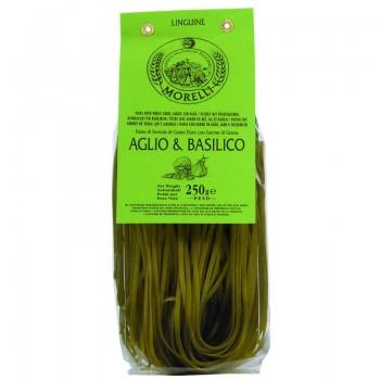 linguine ail - Linguine ail basilic Morelli 250 gr